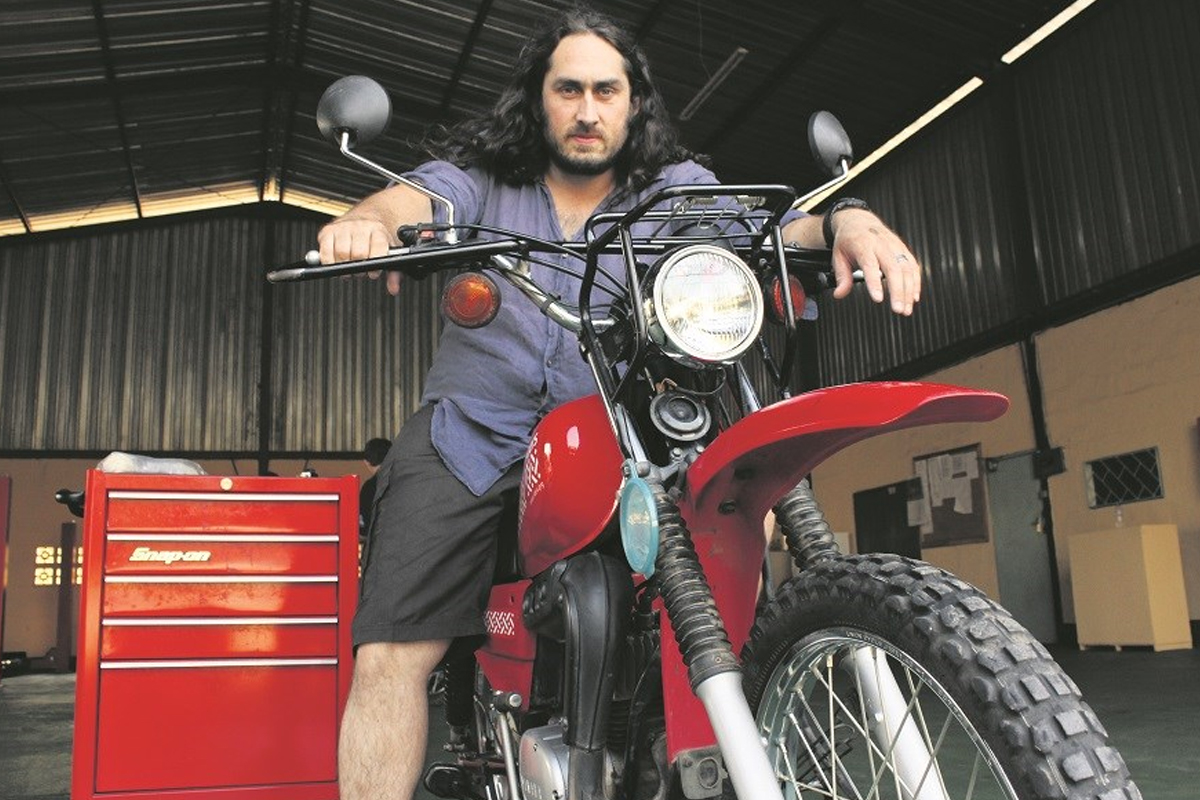Ross Noble raises money for charity Two Wheels for Life