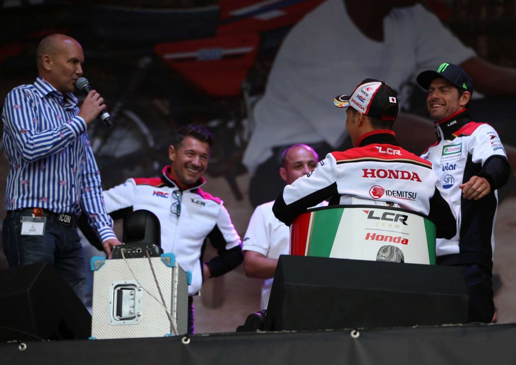 Auction Luccio Cecchinello Michael Hill Cal Crutchlow Silverstone Day of Champions Two Wheels for Life MotoGP