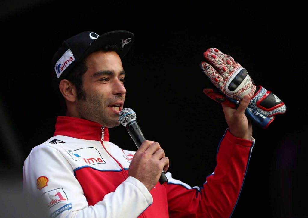 Danilo Petrucci Silverstone MotoGP Day of Champions Two Wheels for Life
