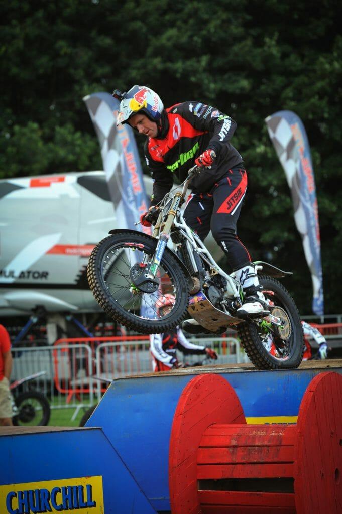 Biker Entertainment Zone Wheelie Day of Champions Silverstone MotoGP Two Wheels for Life
