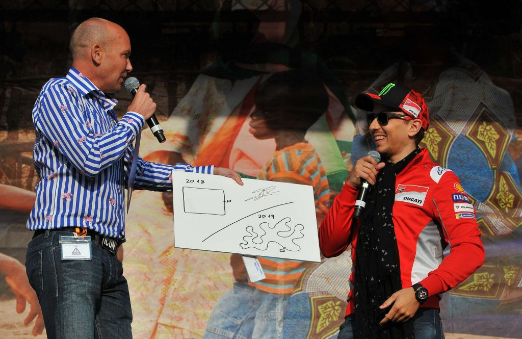 Jack Lorenzo Michael Hill Silverstone Two Wheels for Life MotoGP Day of Champions Auction