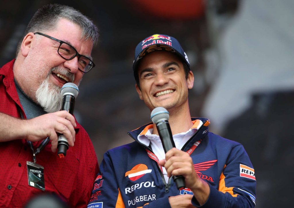 Julian Ryder Dani Pedrosa Auction Silverstone Day of Champions Two Wheels for Life MotoGP