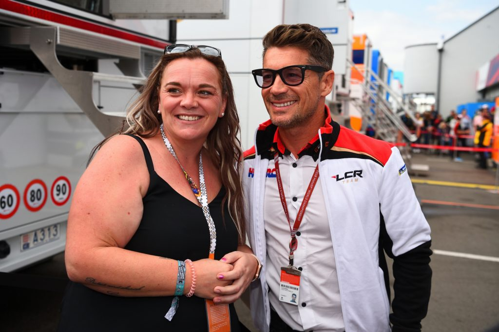 Lucio Cecchinello Pit Paddock Two Wheels for Life MotoGP Silverstone Day of Champions 2018