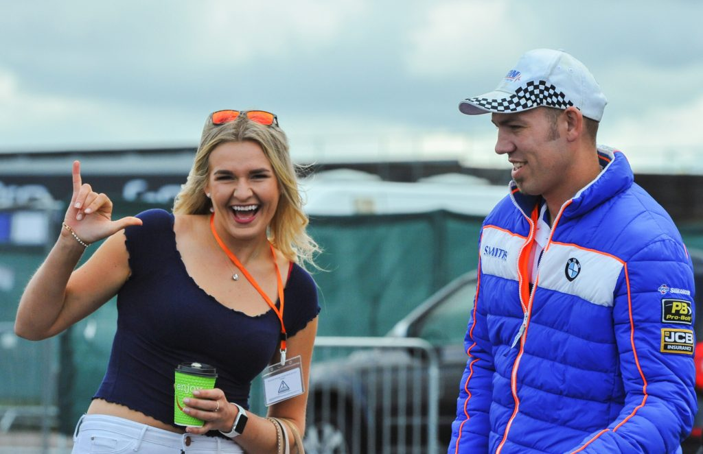 Peter Hickman Fan Two Wheels for Life MotoGP Silverstone Day of Champions 2018