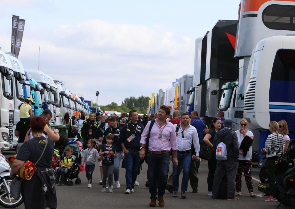 Pit Paddock Two Wheels for Life MotoGP Silverstone Day of Champions 2018