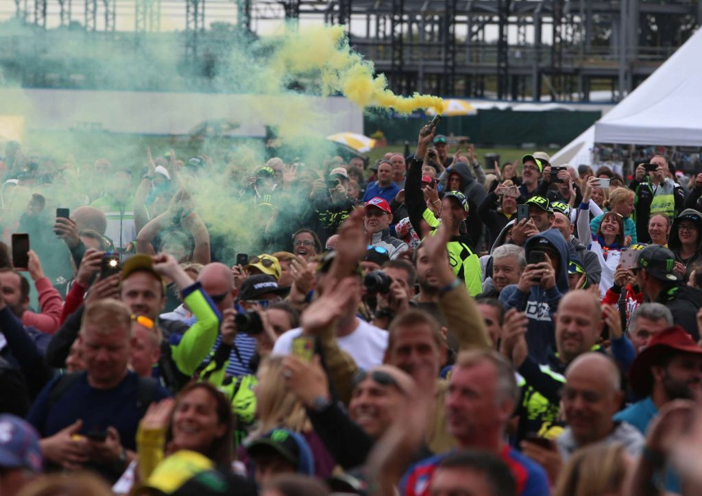 Silverstone Day of Champions Two Wheels for Life MotoGP Fans