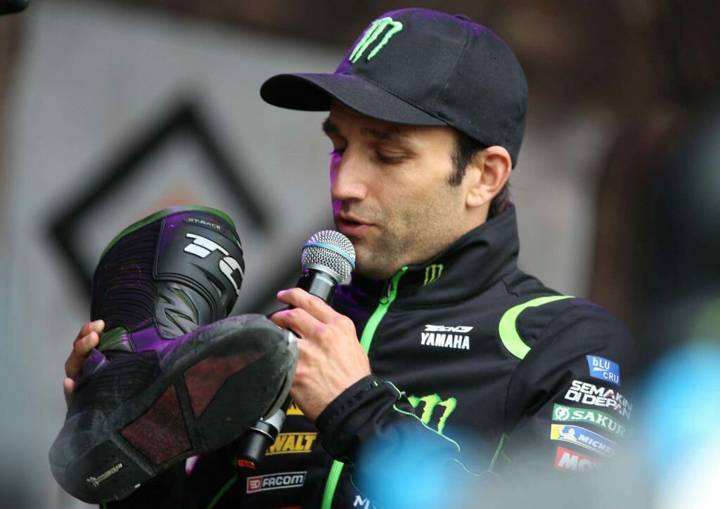 Silverstone Day of Champions 23-08-18 Johann Zarco Auction boots MotoGP