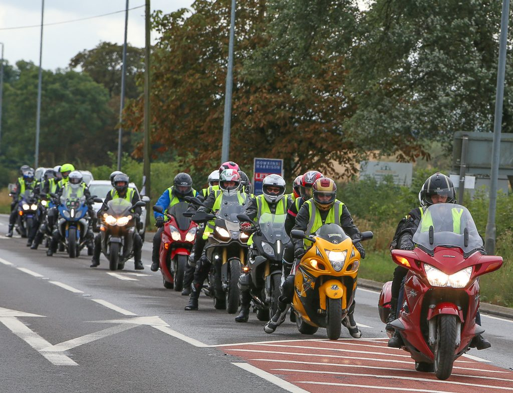 MotoGP Silverstone Two Wheels for Life Day of Champions 2018 DOC Ride In
