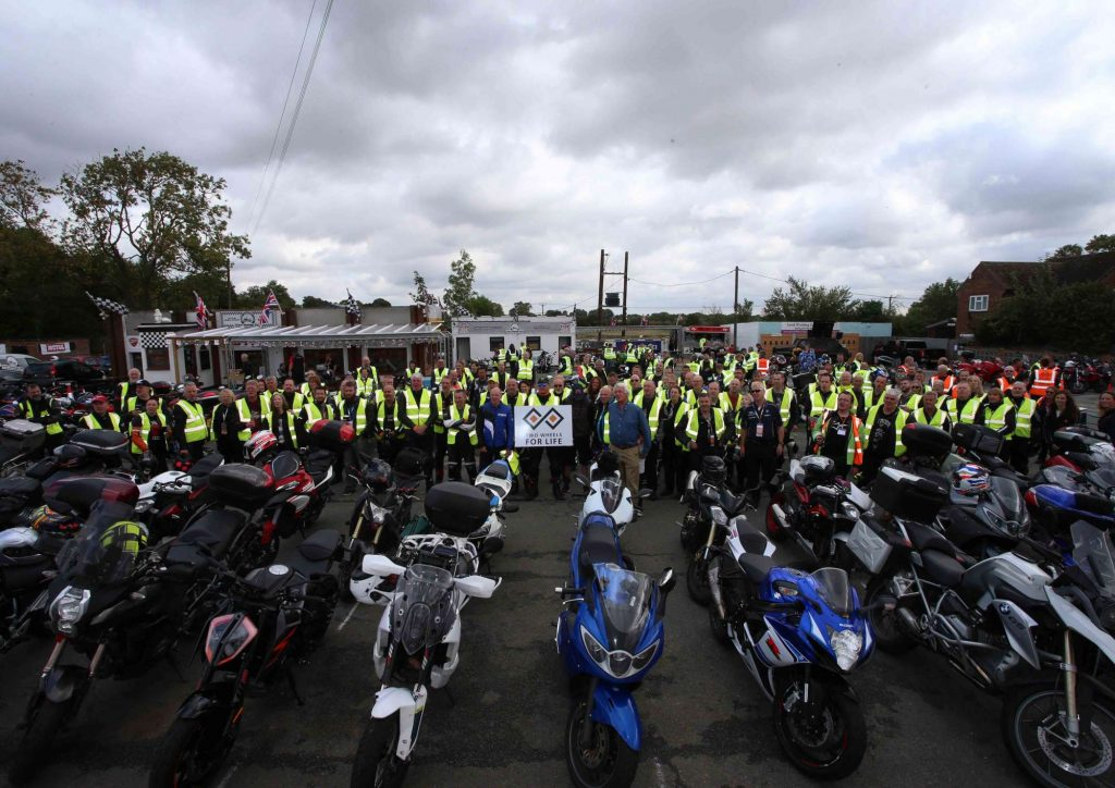 MotoGP Silverstone Two Wheels for Life Day of Champions 2018 Ride In