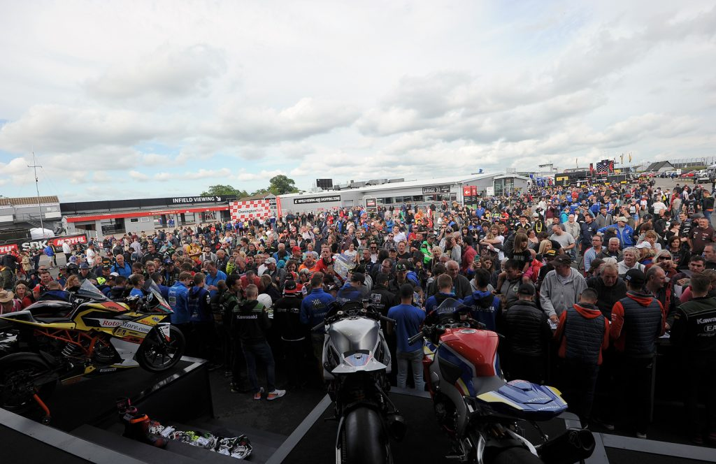 WorldSBK auction at the Paddock Show, Silverstone