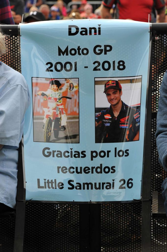 Dani Pedrosa Tribute Two Wheels for Life MotoGP Silverstone Day of Champions 2018