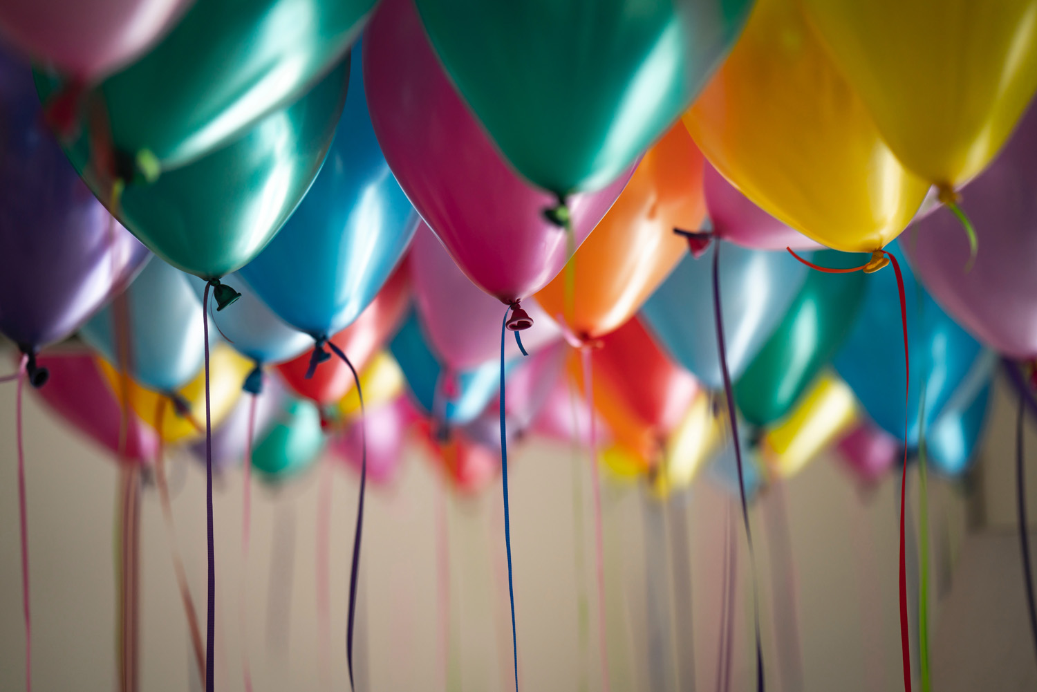 Balloons Photo by Adi Goldstein on Unsplash