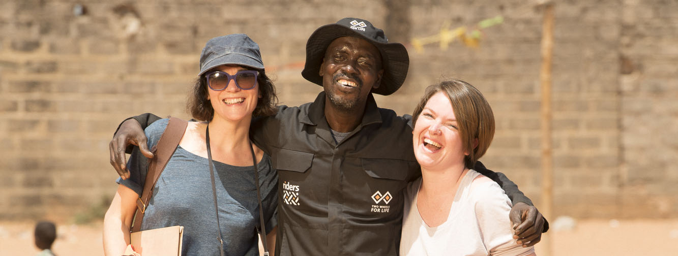 Donna Leonard, Zoe Herron Coleman, Salifu Jabang, The Gambia