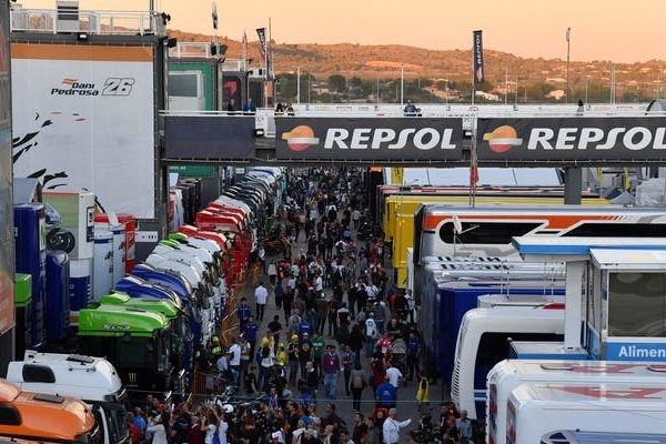 MotoGP track Valencia