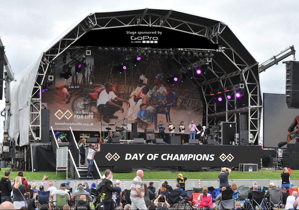 Day of Champions Stage