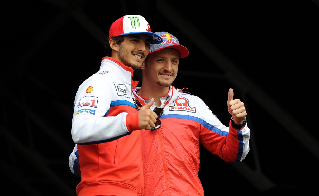 Bagnaia and Miller