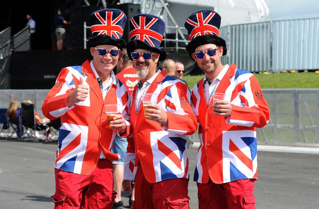 Brit MotoGP fans