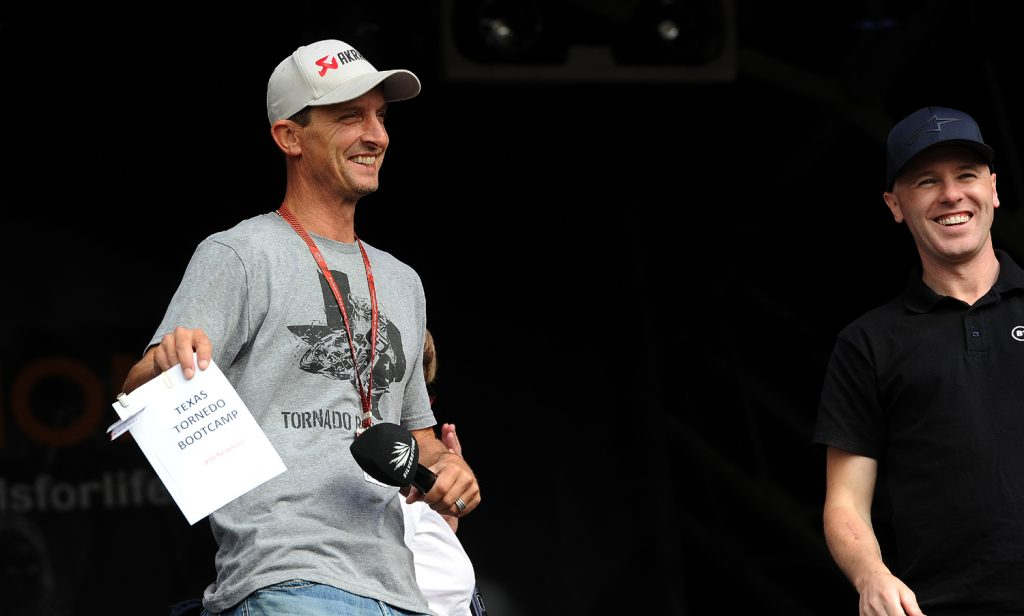 Colin Edwards Bootcamp auction