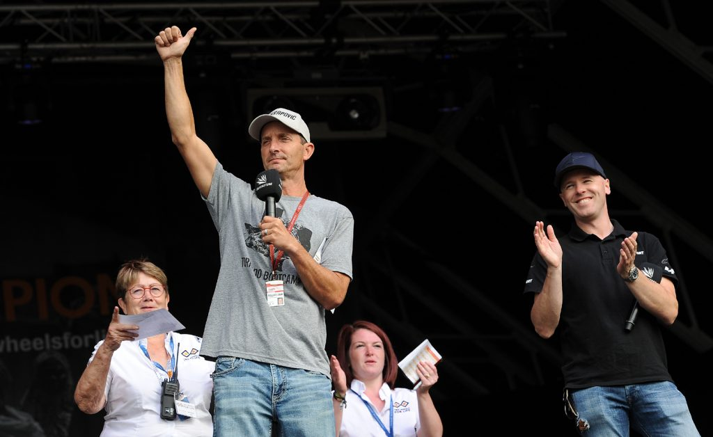 Colin Edwards was pleased with his Bootcamp bid
