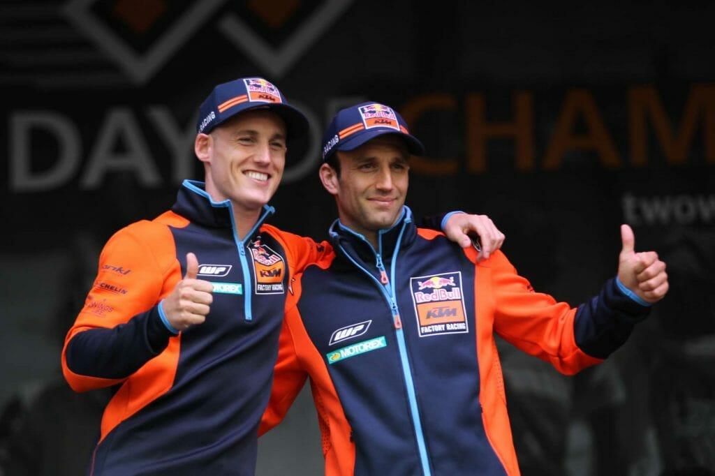 Pol Espargaro & Johann Zarco