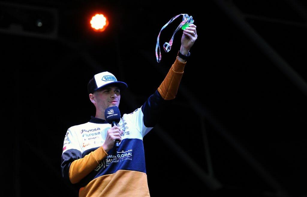 Jake Dixon auctions Moto2 hospitality paddock passes