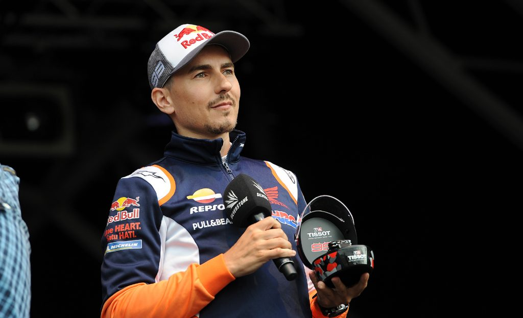 Lorenzo auctioned a MotoGP watch
