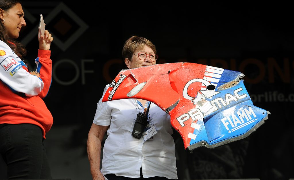 Pramac fairing auction item