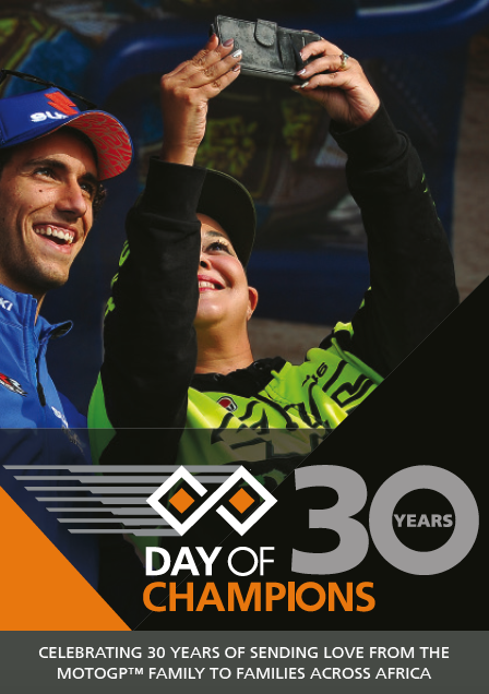 Day of Champions 30 programme