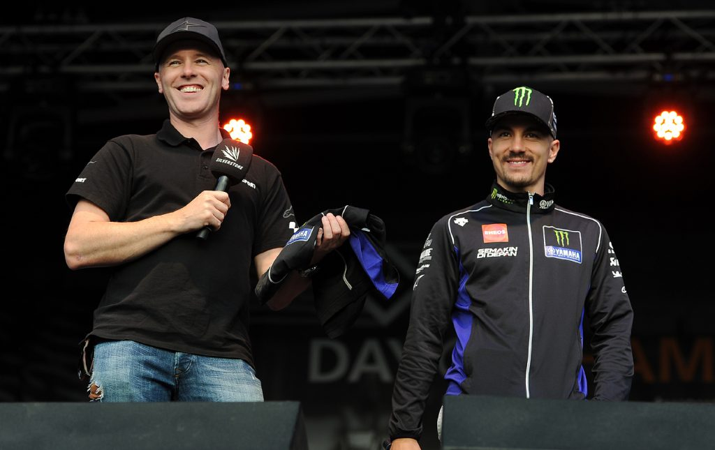 Vinales auctions a team Yamaha T-Shirt