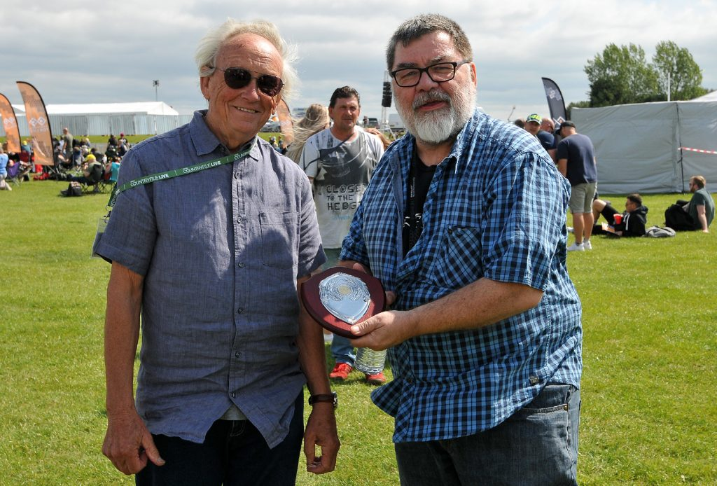 Winner of the Classic Bike Village Competion judged by Julian Ryder
