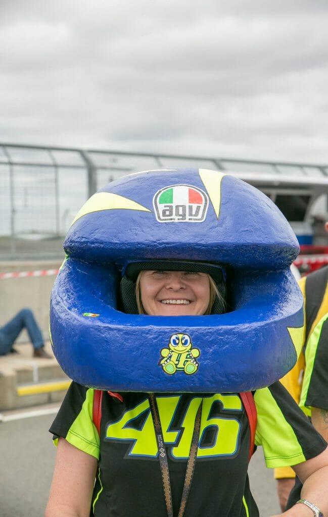 More helmet madness!