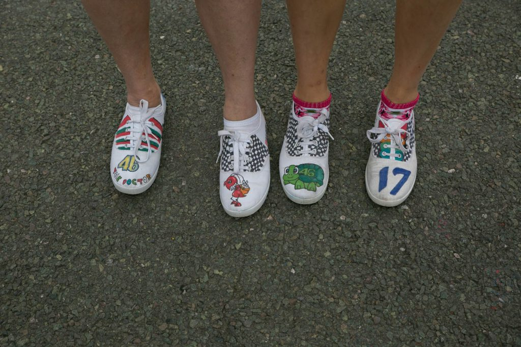 MotoGP shoes were all all the rage at DOC