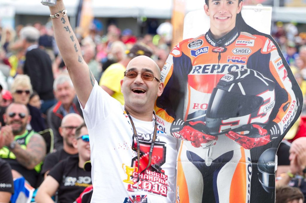 Is this the biggest Marc Marquez fan?
