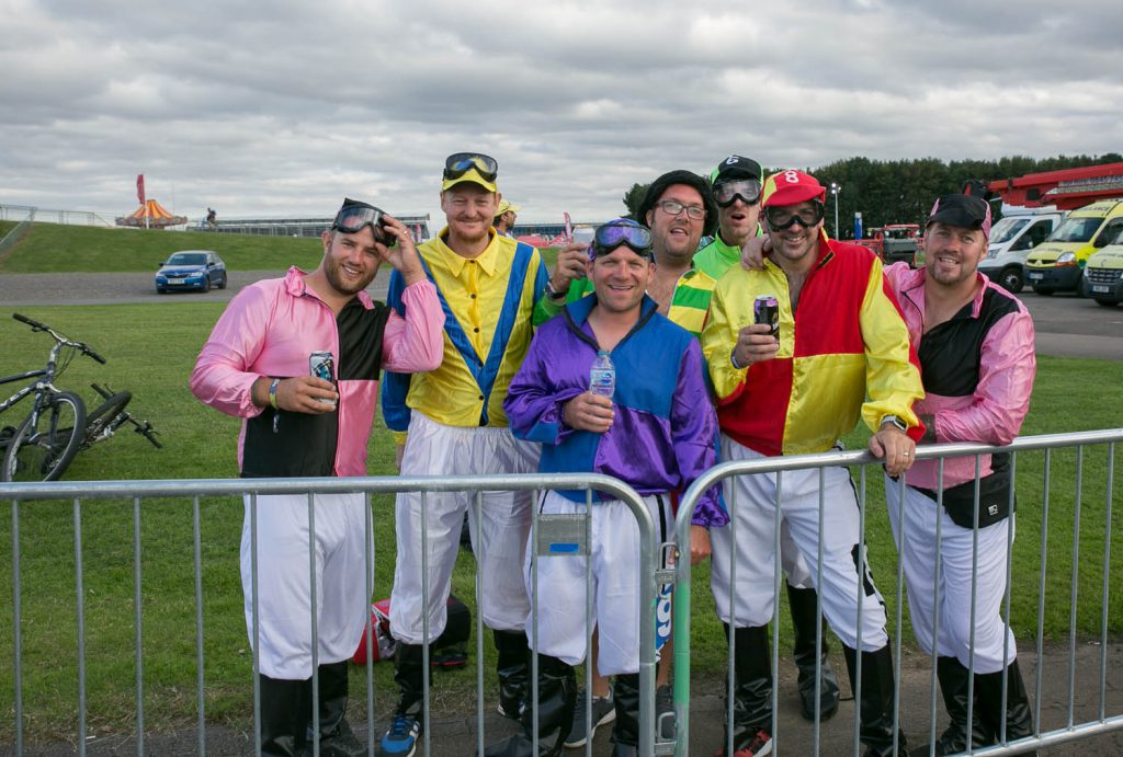 This bunch of lads dresses every year
