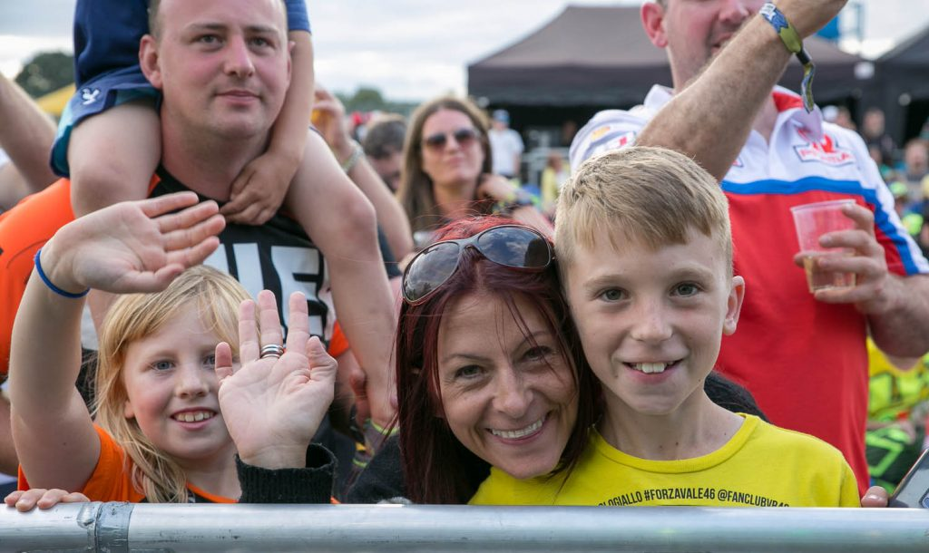 Family fun at Silverstone, Day of Champions