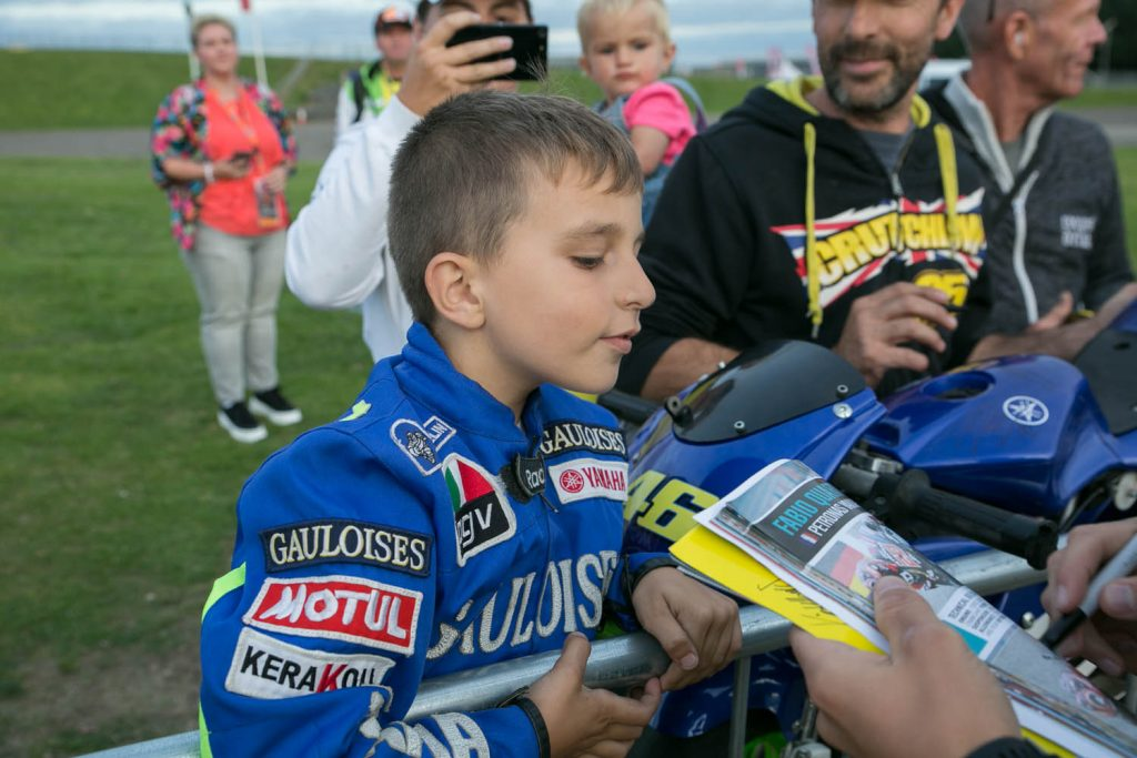 Young riders can't wait to see their MotoGP heroes at Day of Champions