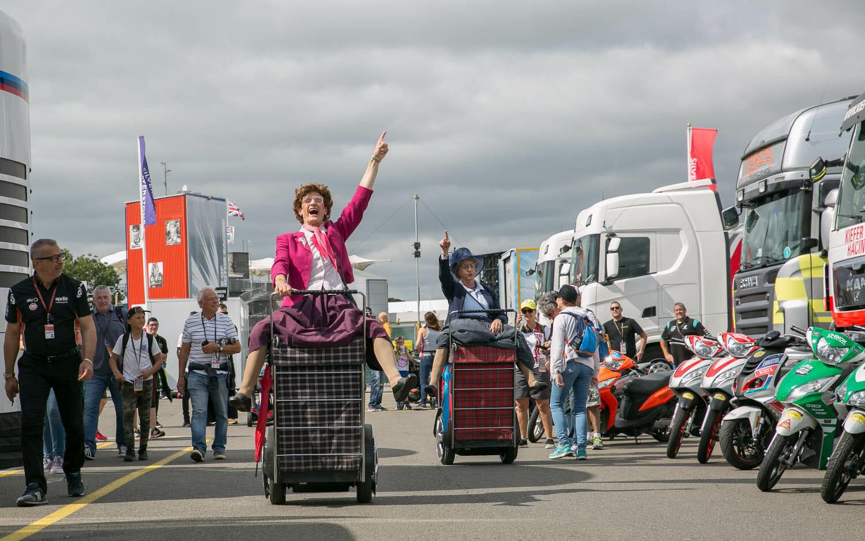 Granny Tourismo were at it again!
