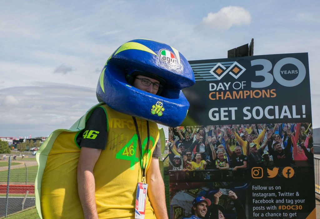 Vale fan has high hopes for Sunday's race