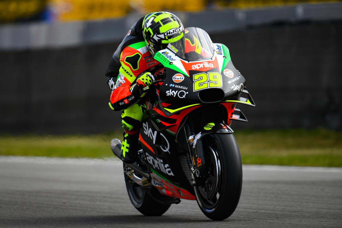 Two Wheels for Life Andrea Iannone Team Auction Aprilia MotoGP