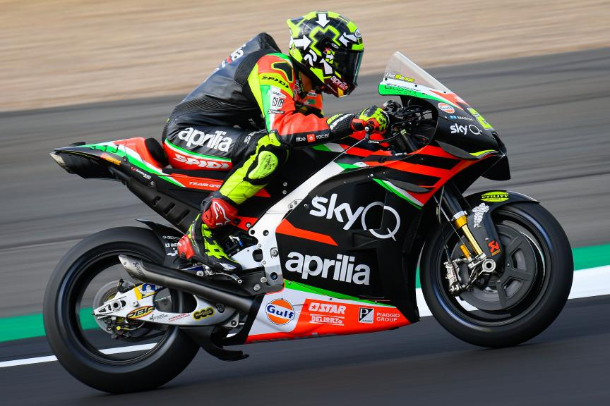 Andrea Iannone MotoGP Two Wheels for Life Aprilia Team Auction