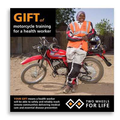 Gift for Life - Two wheels for life