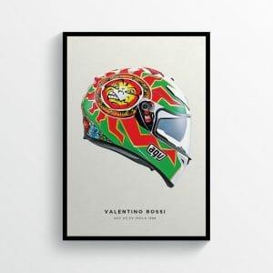Valentino Rossi Imola helmet
