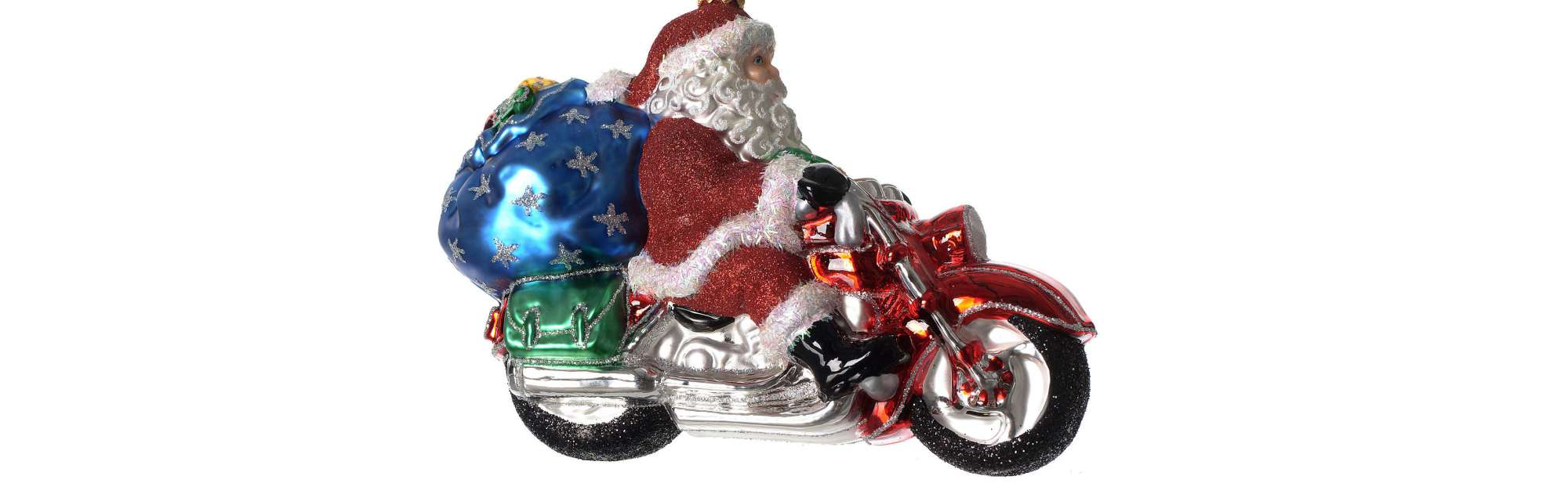 Santa clause motorcycle long