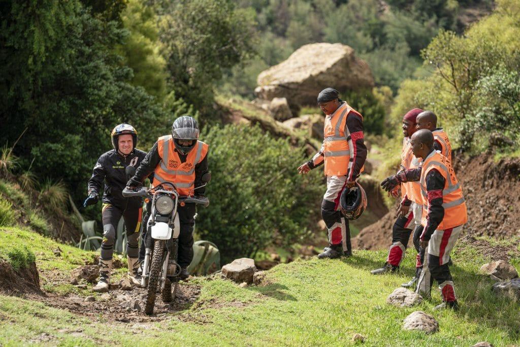 Dougie Training, Lesotho, 2020