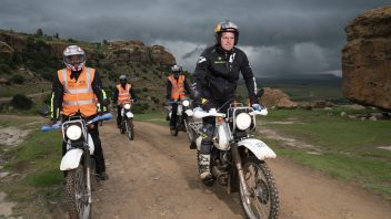 Dougie Lampkin, Lesotho 2020