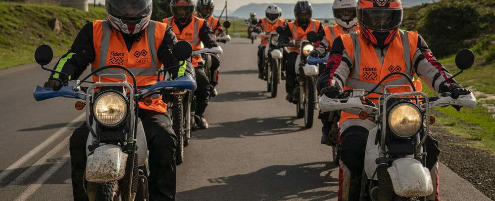 Lesotho, healthworker, fleet, motorcycle