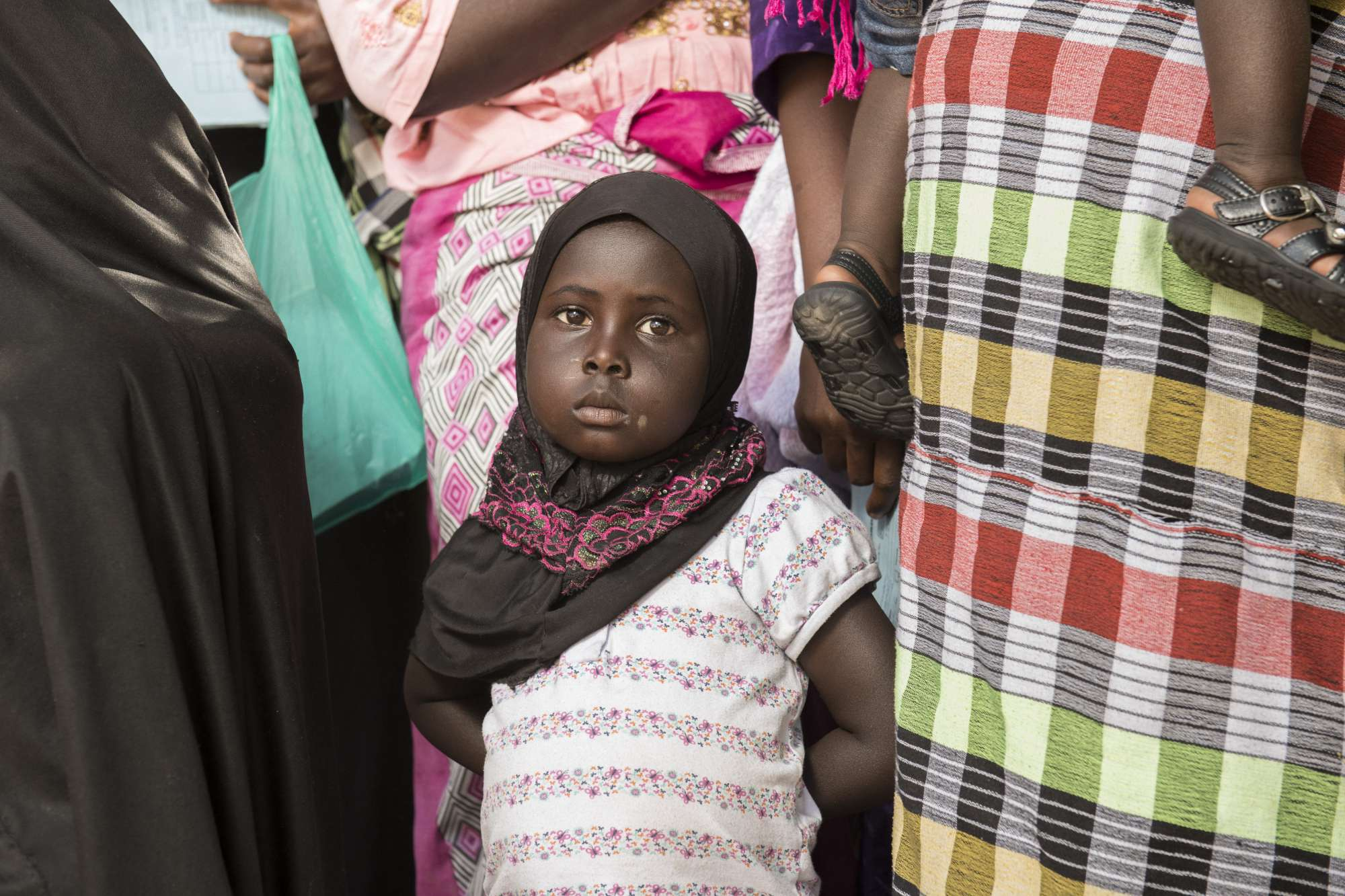 Little girl, The Gambia