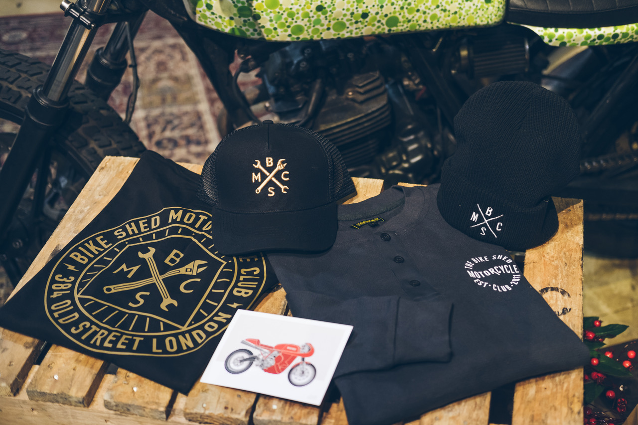The Bike Shed Motorcycle Club London Two Wheels for Life goodie bag giveaway