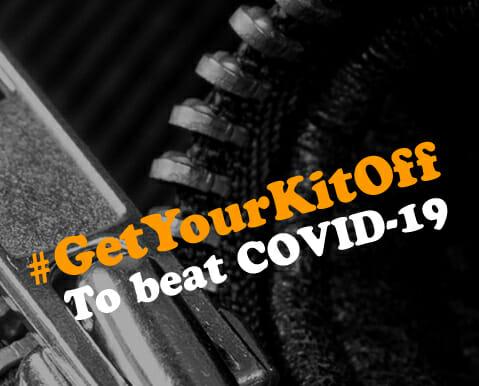 #GetYourKitOff to help fight COVID-19!