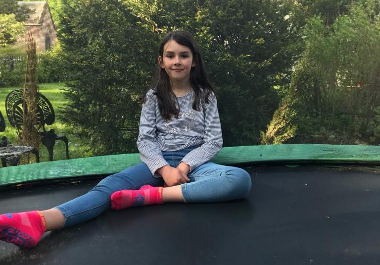 <b>Six year old Emily raises a big, bouncy £1k to help people less fortunate</b>